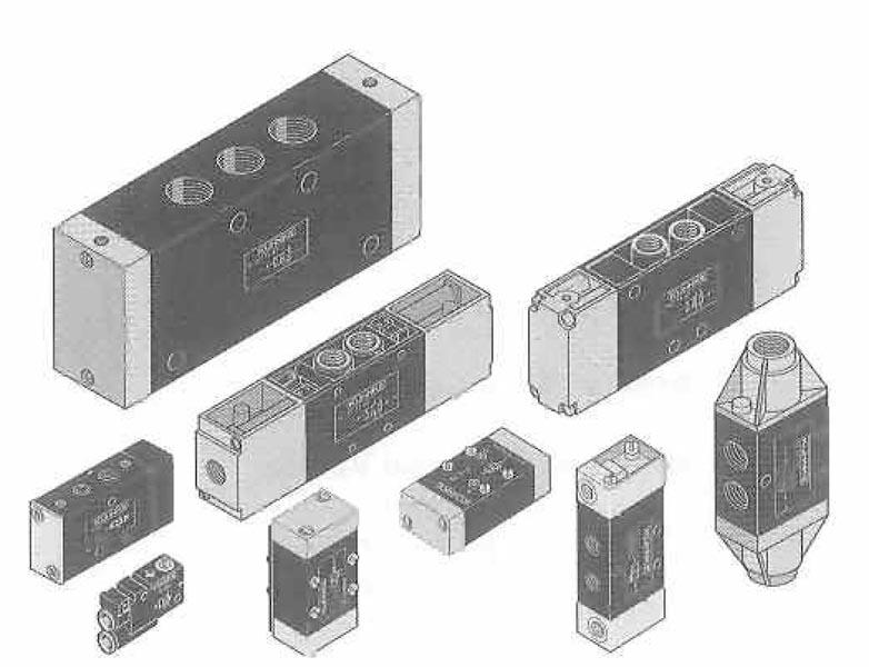 Pneumatic Valves : Ellis/Kuhnke Controls