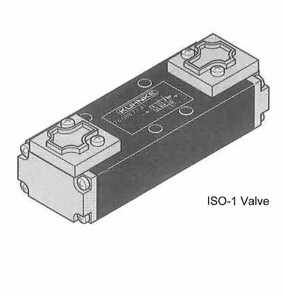 ISO-1 and ISO-2 Valves