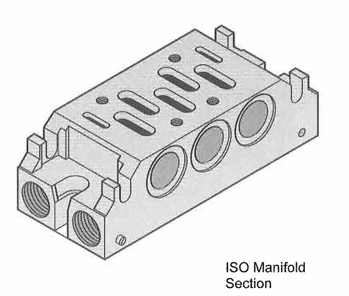 ISO Sub bases and Manifolds