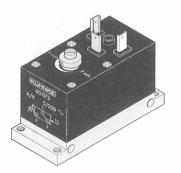 Adjustable Pressure Switch (Normal and Low Pressure types)