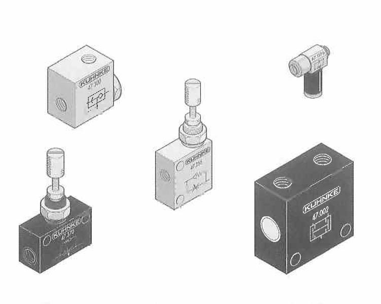 Logic Valves and Flow Controls
