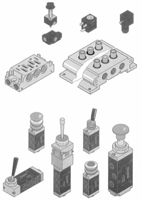 pneumatic valves, pneumatic controls